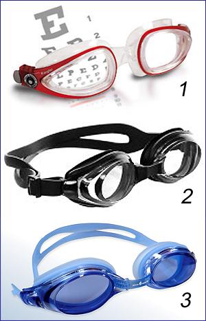 Очки для плавания в бассейне с диоптриями