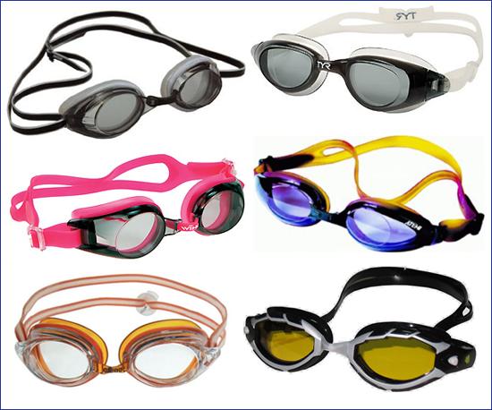Тренировочные очки для плавания с силиконовым обтюратором