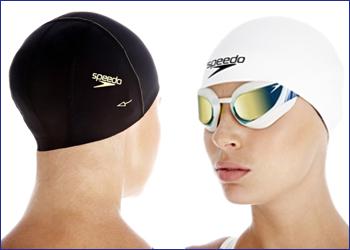 Как надевать шапочку для плавания на длинные волосы
